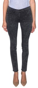 Rag & Bone & Legging Stretch Modal Dark Navy Wash Modern Cool Chic Edgy Elegant Skinny Jeans-Dark Rinse