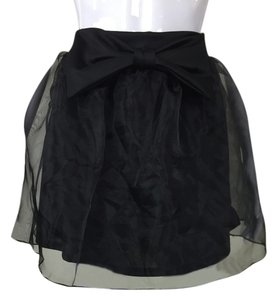 Other Bow Tulle Tutu Skirt Black