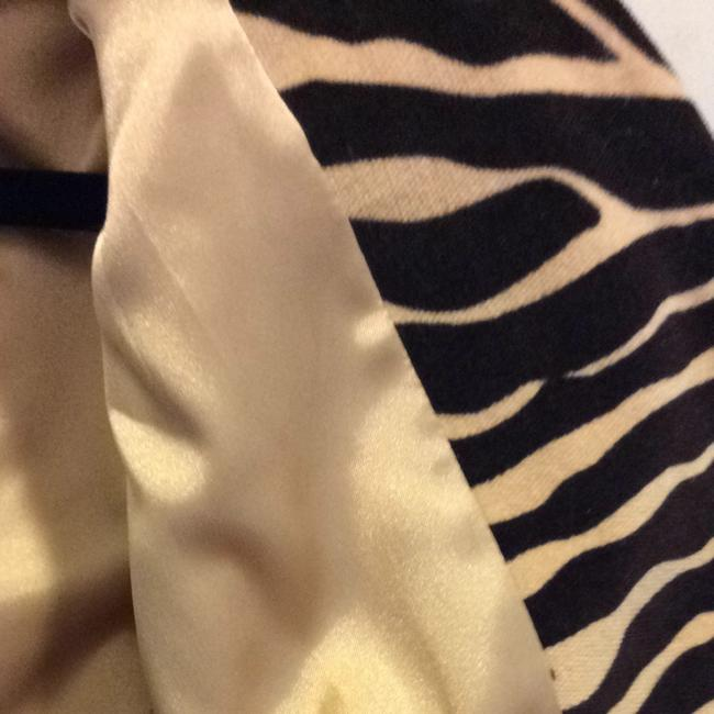Etcetera DEEP BROWN AND A BEIGE/GOLD STREAMING THROUGH. Jacket