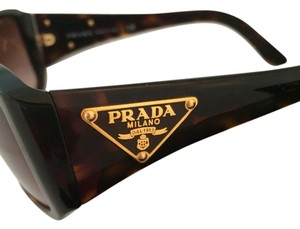 Prada Authentic Prada SPR 16L Tortoise frame sunglasses/gradient lenses