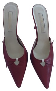 Sergio Rossi Red with cream Pumps