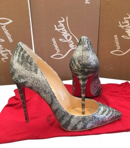 Christian Louboutin Pigalle Pigalle Follies Pigalle Silver Pumps