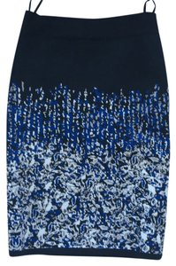 Bcbg skirt Mini Skirt black with blue