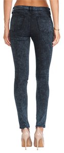 Rag & Bone Rosebowl Navy Wash Stretch Modal Legging & Pants Skinny Jeans-Dark Rinse