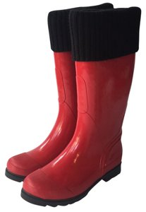 Cougar Red Boots