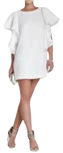 White bcbg white butterfly sleeve dress Dress