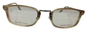 Giorgio Armani GIORGIO ARMANI GA 899 COLOR V53 BEIGE BROWN PLASTIC EYEGLASSES FRAME MADE IN ITALY