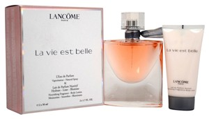 LA VIE EST BELLE BY LANCOME 2PC TRAVEL GIFT SET