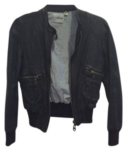 DOMA Blac Leather Jacket