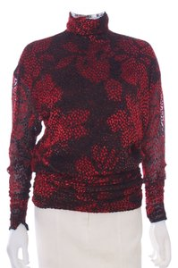 Emanuel Ungaro Top Red & Black