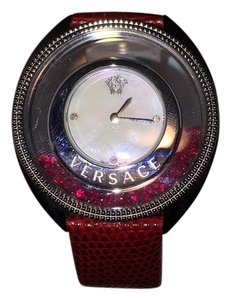 Versace en's Destiny Precious Mother-of-Pearl Stainless