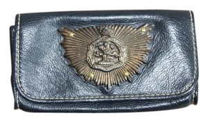 Other Vintage navy, brass Clutch