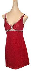 Cosabella short dress Wine/Rouge Red #italian #imported on Tradesy