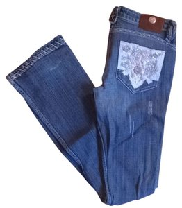 Antik Denim Boot Cut Jeans-Medium Wash