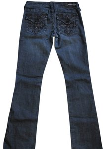 Affliction Boot Cut Jeans-Dark Rinse