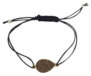 Independent Clothing Co. Bronze Pear Shaped Druzy Bracelet