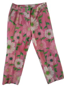 Lilly Pulitzer White Tag Lilly Capri/Cropped Pants Pink