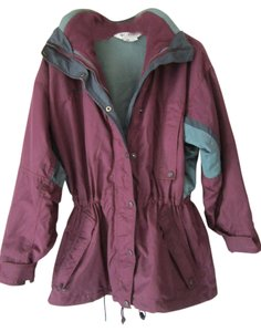 Columbia Sports Warm Winter GREEN/BURGANDY/FOREST Jacket
