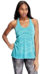 Old Navy NWT Old Navy Burnout Tank Top Blue Size XXL Polyester Blend NEW