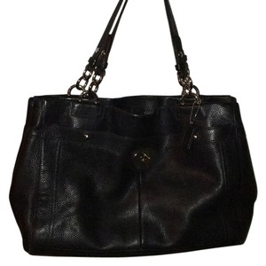 Coach Penelope Leather Carryall Shoulder Bag