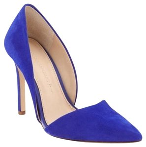 Banana Republic Suede Bell Blue Pumps