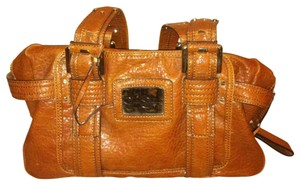 Jessica Simpson Satchel in Camel, tan, luggage, brown