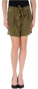 Theory Mini/Short Shorts Green