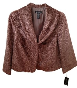 INC International Concepts Vintage Glamour champagne Jacket