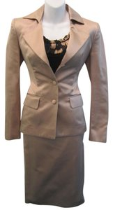 Saint Laurent Yves Saint Laurent Dusty Pink Skirt Suit Set Size 34