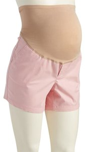 Old Navy NWT Old Navy Maternity Full-Panel Twill Shorts Pink size 12 NEW