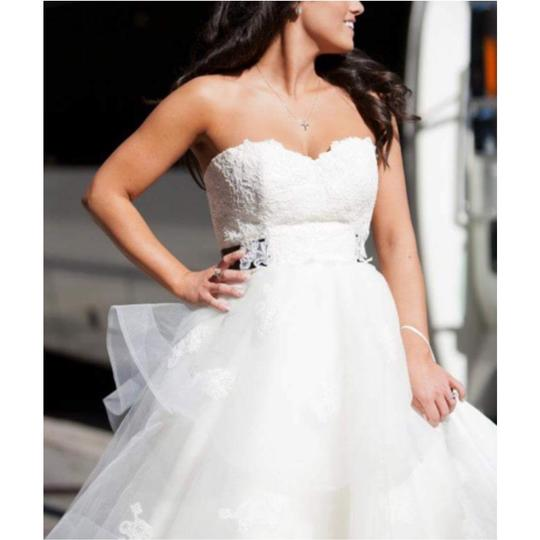 Wedding Gowns St Louis: Anne Barge Peal With Black Sash (Lace Application) Tool