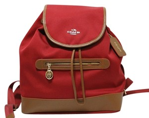 Coach Canvas F37240 Backpack