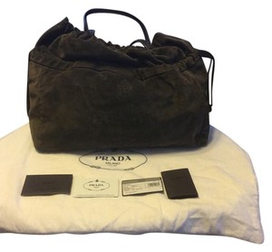 Prada Suede New Shoulder Bag