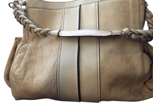 Chloé Chloe Large Leather Tote in Cream