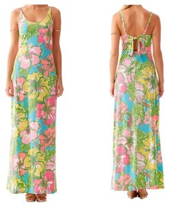 Shorely Blue Maxi Dress by Lilly Pulitzer