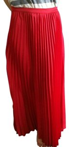 Patterson J. Kincaid Maxi Skirt red