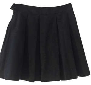 Hunter Brocade Fancy Skirt Navy