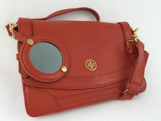 Tory Burch Blood Leather Shoulder Bag
