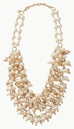Stella & Dot Sofia Pearl Bib Necklace