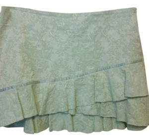 bebe Mini Skirt Mint Green