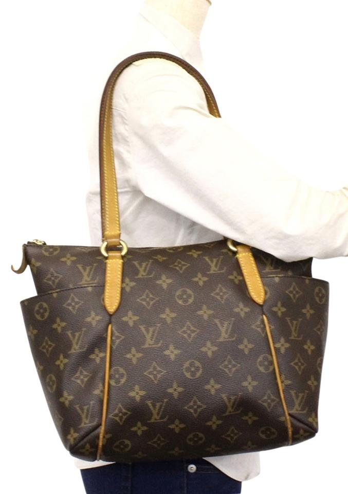 04130677 Louis Vuitton Totally Pm Monogram Canvas Brown Tote Shoulder Bag