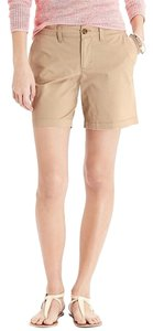 Old Navy Twill Rolled Oats Bermuda Shorts Khaki