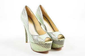 B Brian Atwood Mint Green Pumps