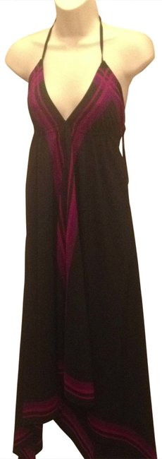 Preload https://item5.tradesy.com/images/old-navy-black-purple-pink-halter-high-low-casual-maxi-dress-size-2-xs-111929-0-0.jpg?width=400&height=650