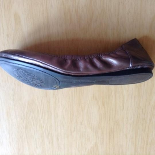 Vince Camuto Rubber Soles Steel/ Pewter Flats