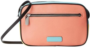 Marc Jacobs Blocked And Pieced Sally Leather 888877496016 M0006014 Cross Body Bag