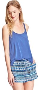 Old Navy Sueded Modal Blend Shirt Top Blue
