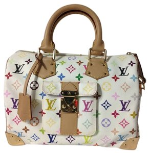 Louis Vuitton Speedy 30 Speedy Speedy Monogram Damier Canvas Alma Neverfull Satchel in Multicolored