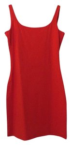 Susana Monaco short dress Red/orange on Tradesy