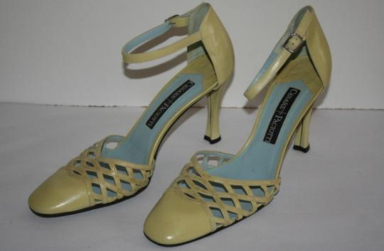 Cesare Paciotti lime Pumps